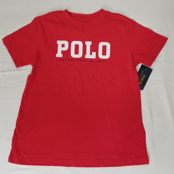 82c00e33c5 NWT Polo by Ralph Lauren Red American Flag Tee 5